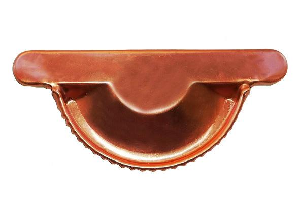 Изображение Заглушка желоба водосточного МЕДЬ Gutter (Гуттер)